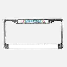 Minnesota Design License Plate Frame