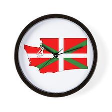 Basque States Wall Clock
