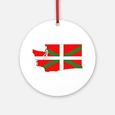 Basque States Ornament (Round)