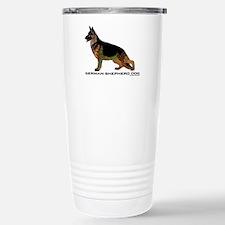 Tangle German Shepherd Travel Mug