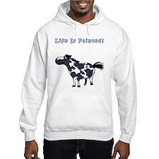 Life Is Painted! Paint Horse. Hoodie Sweatshirt