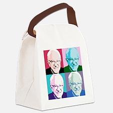 Funny Pop art Canvas Lunch Bag