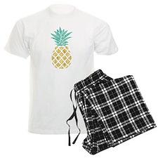 Golden Pineapple Pajamas