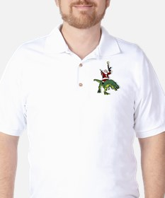 Santa's Coming to Town Golf Shirt