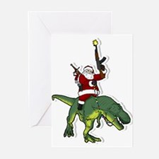 Santa's Coming to Town Greeting Cards