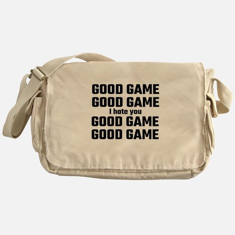 Good Game, Good Game, I Hate You, Go Messenger Bag