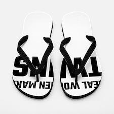 Real Women Make Twins Flip Flops