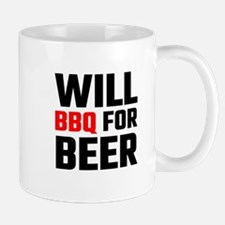 Will BBQ For Beer Mugs