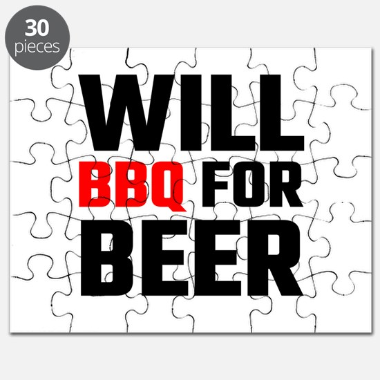 Will BBQ For Beer Puzzle