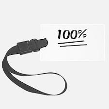 100 Percent Luggage Tag