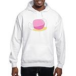Big Pink Taffy Hooded Sweatshirt