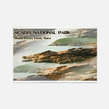 Funny Acadia national park Rectangle Magnet