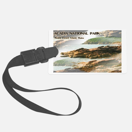 Funny Acadia national park Luggage Tag
