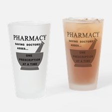 pharmacy saving doctors Drinking Glass