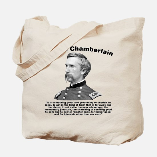 Chamberlain: Greatness Tote Bag