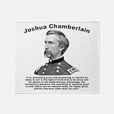 Chamberlain: Greatness Throw Blanket