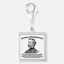 Chamberlain: Greatness Silver Square Charm