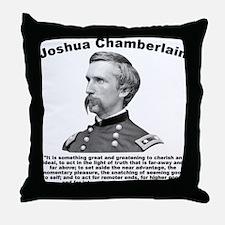 Chamberlain: Greatness Throw Pillow