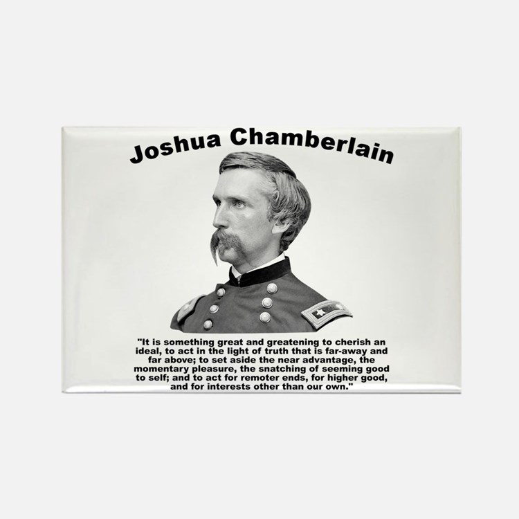 Chamberlain: Greatness Rectangle Magnet