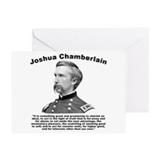 Chamberlain: Greatness Greeting Card