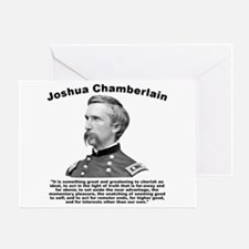 Chamberlain: Greatness Greeting Card
