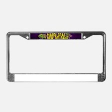 Mardi Gras New Orleans Mask Be License Plate Frame