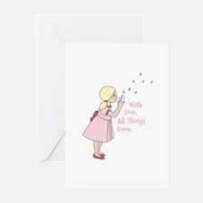 All Thing Grow Greeting Cards
