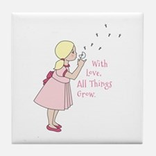 All Thing Grow Tile Coaster