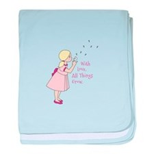 All Thing Grow baby blanket