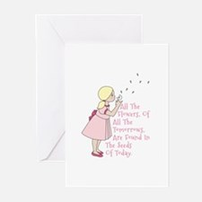 Seeds of Today Greeting Cards
