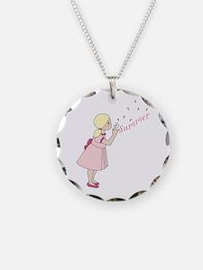 Summer Dandelion Necklace