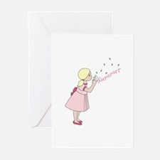 Summer Dandelion Greeting Cards