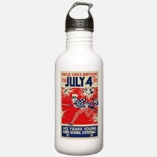 July 4th Uncle Sam's B Water Bottle