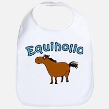 Equiholic. Horse Addict Bib
