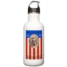 War Bonds WWI My Soldi Water Bottle