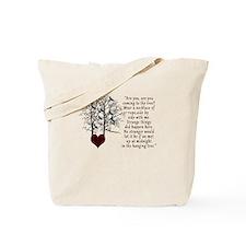 Hunger Games Hanging Tree Tote Bag