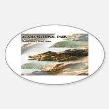 Acadia National Park Coastline Decal