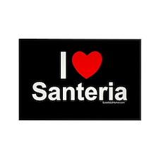 Santeria Rectangle Magnet