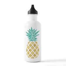 Golden Pineapple Water Bottle