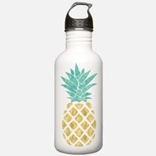 Golden Pineapple Water Bottle