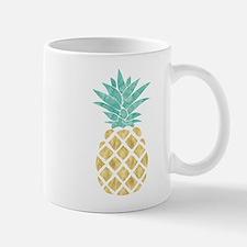 Golden Pineapple Mugs