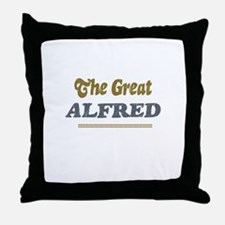 Alfred Throw Pillow