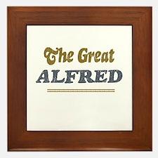 Alfred Framed Tile