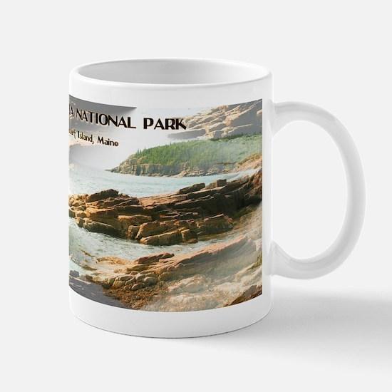 Acadia National Park Coastline Mugs