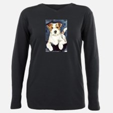 Unique Russell terrier Plus Size Long Sleeve Tee