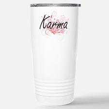 Karma Artistic Name Des Travel Mug
