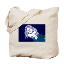 ~that blue girl~ Tote Bag