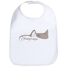 Sea Stingrays Bib