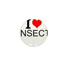 I Love Insects Mini Button (10 pack)