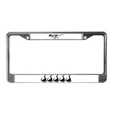 Dinos R Us License Plate Frame